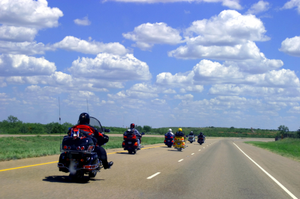 Group Riding On Motorcycles